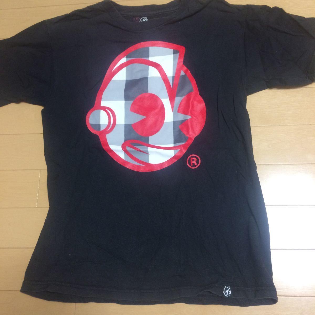 ☆ウルトラマン風 マスクTシャツ メキシコ製 古着 メンズS-M プロレス レスラー 古着_画像1