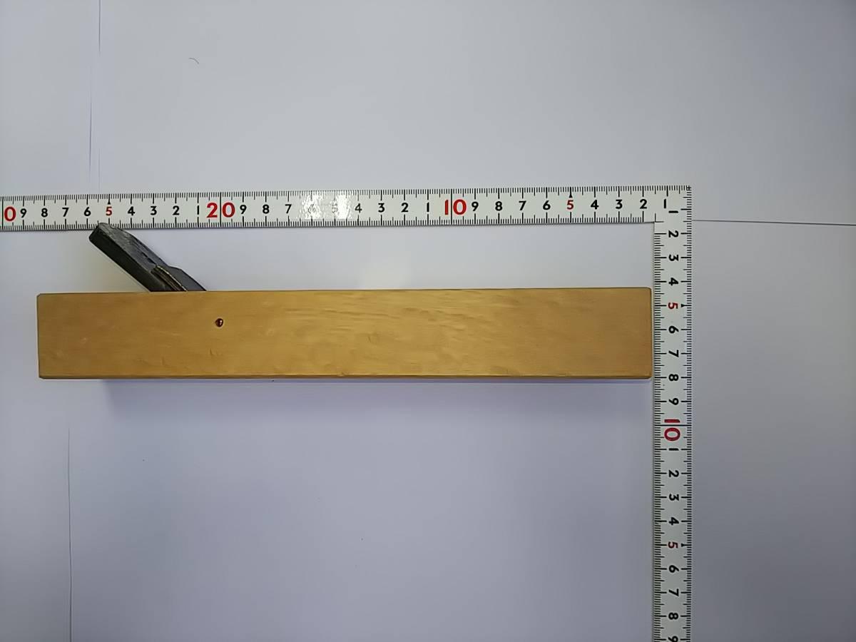ヒシケン 内丸鉋 24㎜ 本刃付 使用台 送料無料 プロ 本職 希少 かんな 大工 鉋_画像2