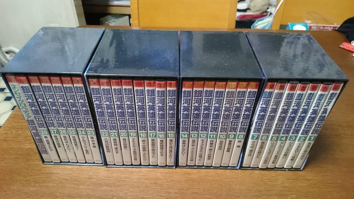 銀河英雄伝説 DVDBOX 付属ガイドブック 中古品 ※ディスク1枚欠品有ります!_画像2