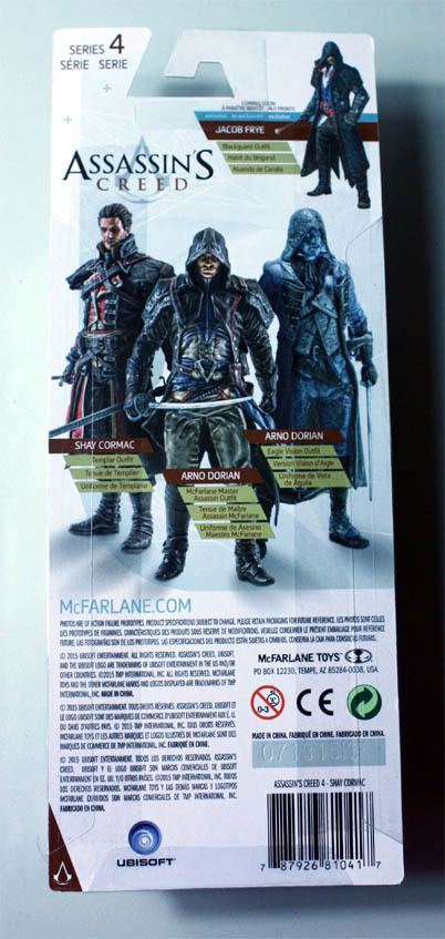 フィギュア Neca Assassin S Creed Shay Cormac アサシンクリード シェイ コーマック 7インチ 新品未開封541q Jauce Shopping Service Yahoo Japan Auctions Ebay Japan