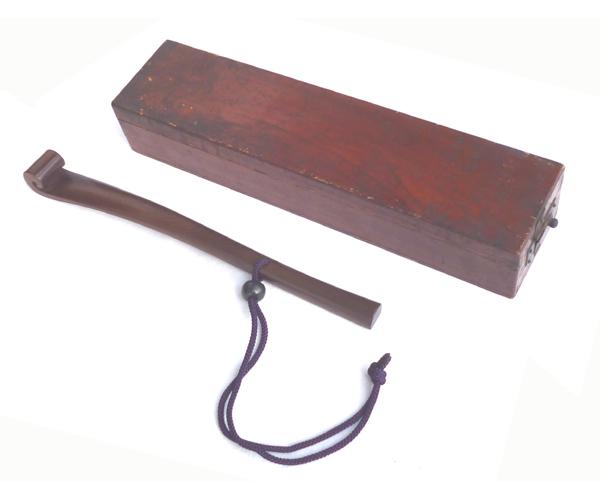 ● 木工品 軍配 采配 < 如意棒 > 架空の棒 ●_画像9