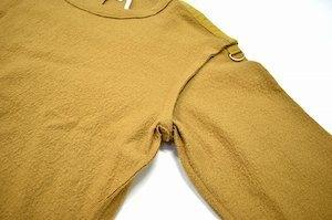 Azuma. アズマ Inside-Out Pullover インサイドアウト プルオーバー 17AW 0(M) キャメル Wool Knit ウール ニット カットソー セーター_画像5