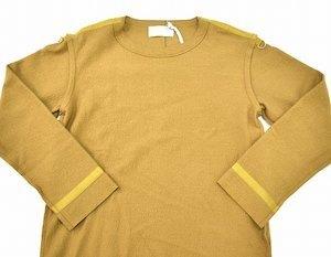 Azuma. アズマ Inside-Out Pullover インサイドアウト プルオーバー 17AW 0(M) キャメル Wool Knit ウール ニット カットソー セーター_画像3