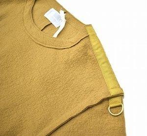 Azuma. アズマ Inside-Out Pullover インサイドアウト プルオーバー 17AW 0(M) キャメル Wool Knit ウール ニット カットソー セーター_画像4