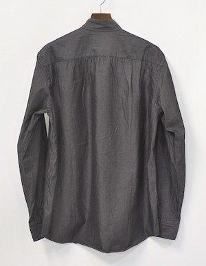 UMIT BENAN ウミットベナン KOREAN COLLAR SHIRT JACKET コリアンカラーシャツジャケット 46 STAND COLLAR SHIRTS スタンドカラー 比翼_画像2