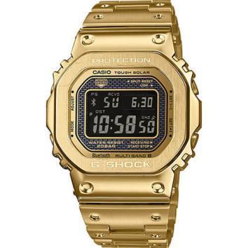 國內常規新品CASIO G  -  SHOCK GMW  -  B 5000 GD  -  9 JF GOLD金全金屬TOUGH SOLAR收音機太陽能藍牙G震撼 編號:f294842828