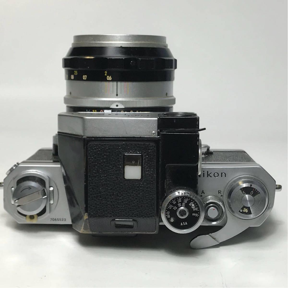 Nikon F Photomic FTN /ニコン F 外部測光式フォトミックファインダー SLR FILM CAMERA with/Nikkor 1.4 50㎜【c/n7065523】_画像7