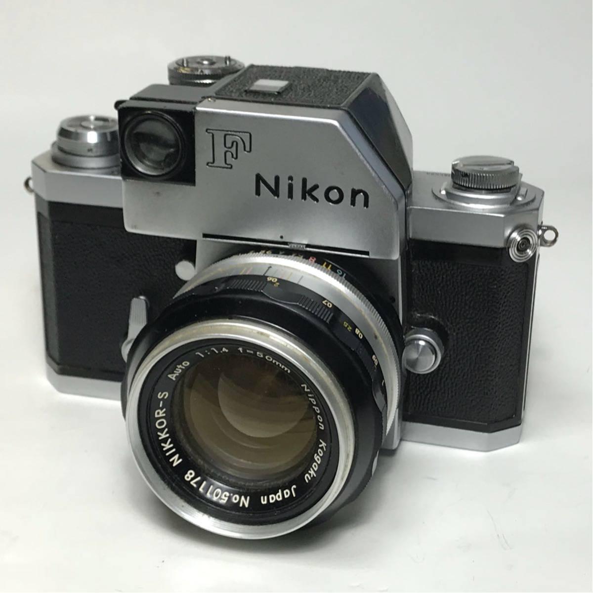 Nikon F Photomic FTN /ニコン F 外部測光式フォトミックファインダー SLR FILM CAMERA with/Nikkor 1.4 50㎜【c/n7065523】
