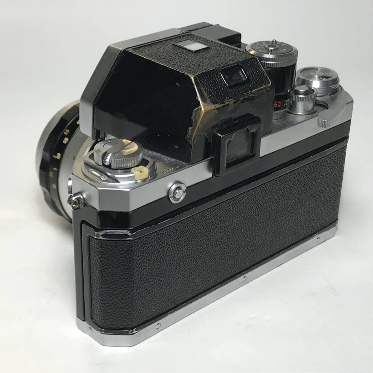 Nikon F Photomic FTN /ニコン F 外部測光式フォトミックファインダー SLR FILM CAMERA with/Nikkor 1.4 50㎜【c/n7065523】_画像3