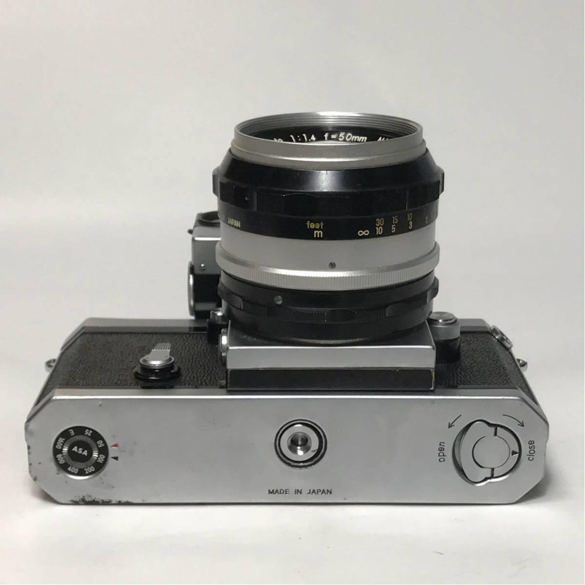 Nikon F Photomic FTN /ニコン F 外部測光式フォトミックファインダー SLR FILM CAMERA with/Nikkor 1.4 50㎜【c/n7065523】_画像8