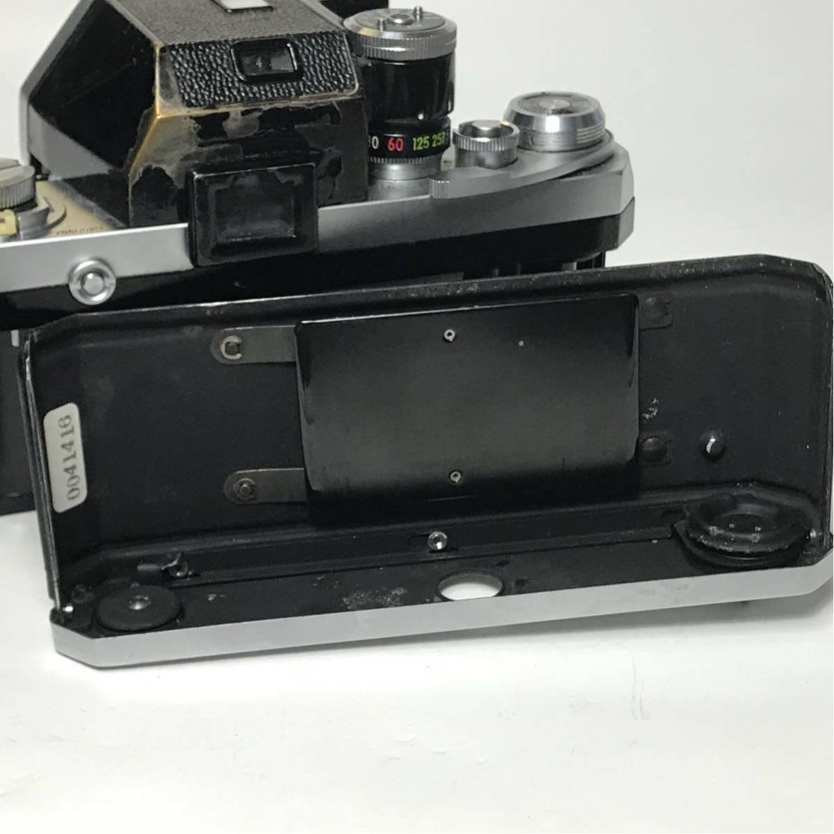 Nikon F Photomic FTN /ニコン F 外部測光式フォトミックファインダー SLR FILM CAMERA with/Nikkor 1.4 50㎜【c/n7065523】_画像10