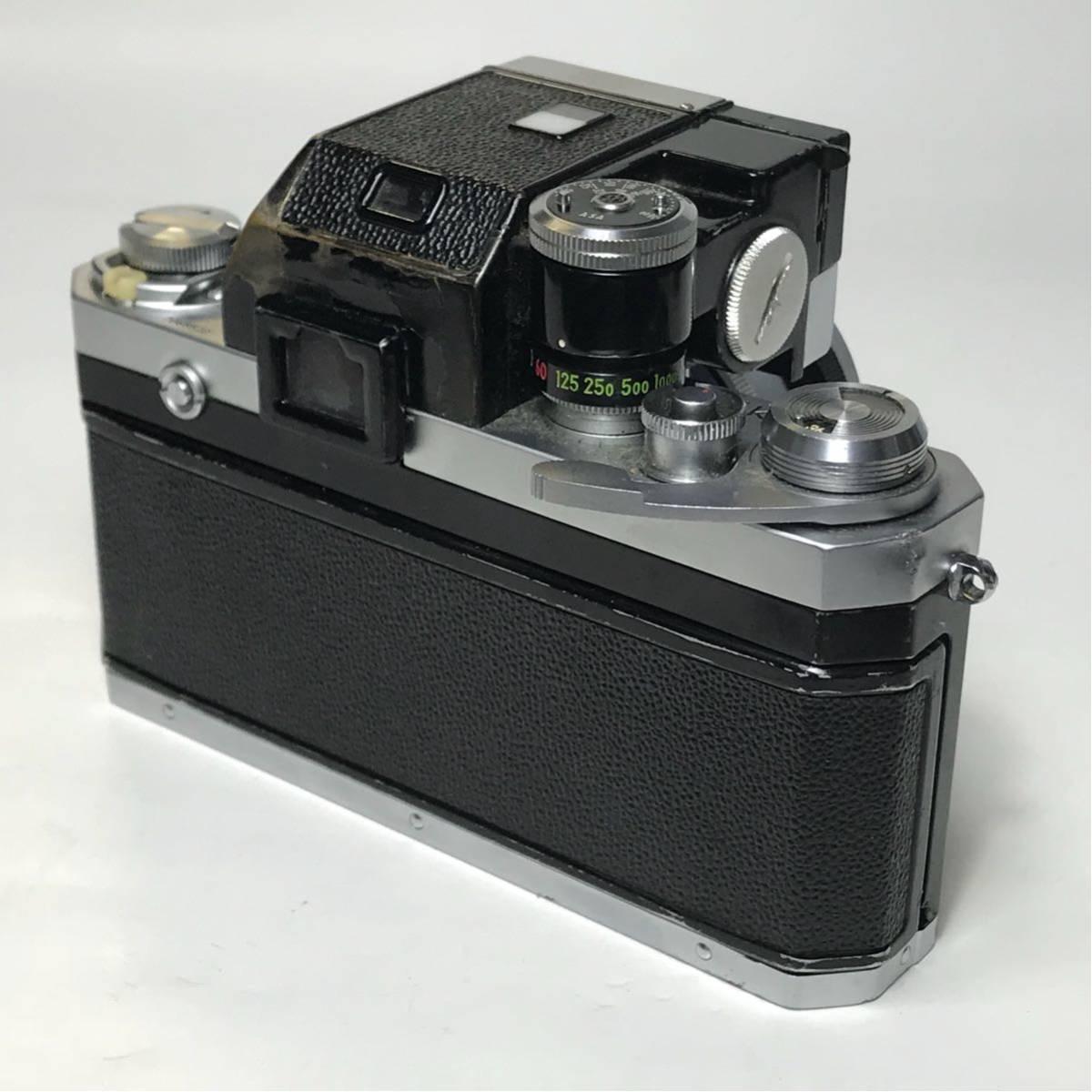 Nikon F Photomic FTN /ニコン F 外部測光式フォトミックファインダー SLR FILM CAMERA with/Nikkor 1.4 50㎜【c/n7065523】_画像4