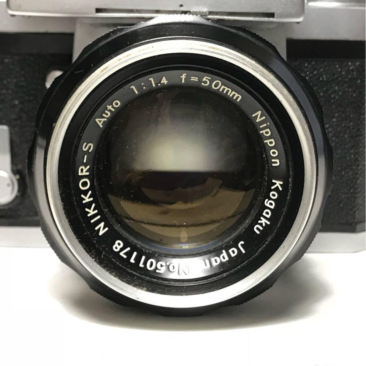 Nikon F Photomic FTN /ニコン F 外部測光式フォトミックファインダー SLR FILM CAMERA with/Nikkor 1.4 50㎜【c/n7065523】_画像6