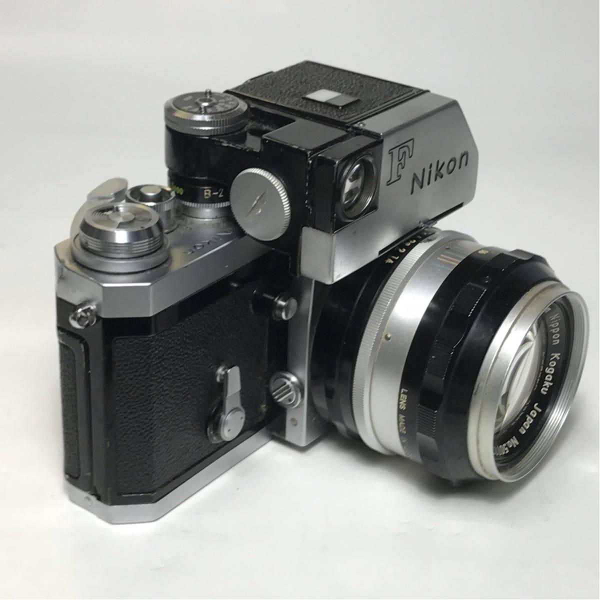 Nikon F Photomic FTN /ニコン F 外部測光式フォトミックファインダー SLR FILM CAMERA with/Nikkor 1.4 50㎜【c/n7065523】_画像5