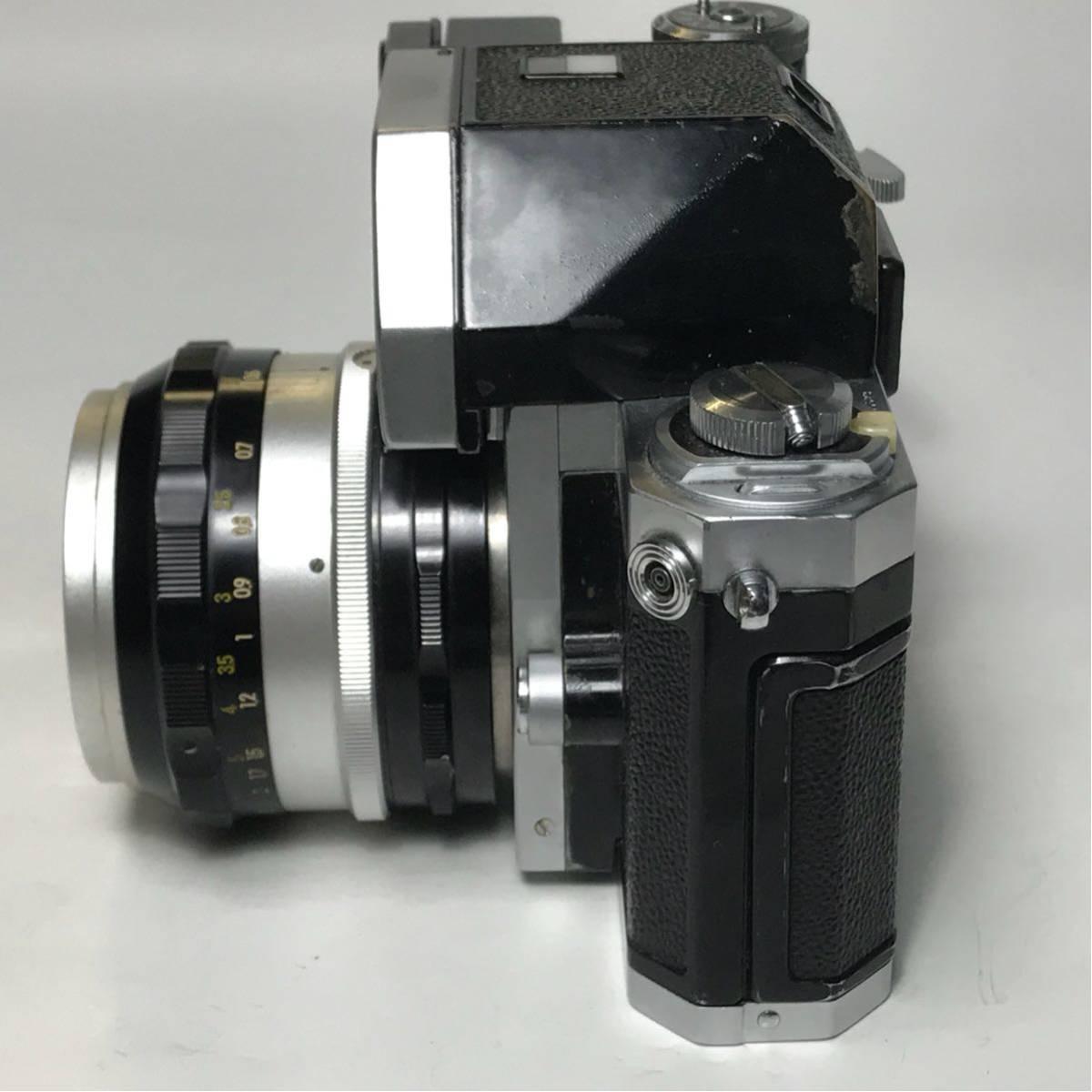 Nikon F Photomic FTN /ニコン F 外部測光式フォトミックファインダー SLR FILM CAMERA with/Nikkor 1.4 50㎜【c/n7065523】_画像2