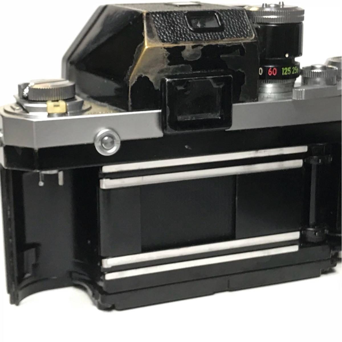 Nikon F Photomic FTN /ニコン F 外部測光式フォトミックファインダー SLR FILM CAMERA with/Nikkor 1.4 50㎜【c/n7065523】_画像9