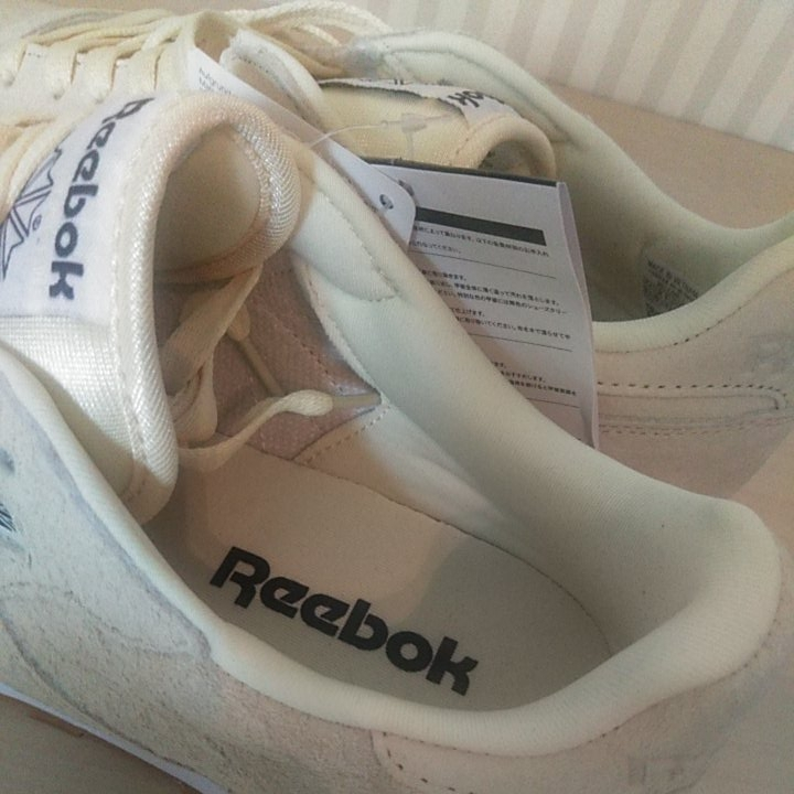 907fb8109bde new goods regular price 1.2 ten thousand Reebok Classic leather stereo ru  yellow 27.5cm suede