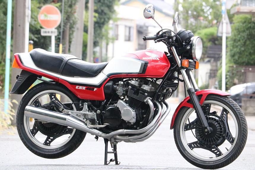 「昭和60年6月/最強のフルオリジナルCBX400FF/F2/フル2型/赤白/完璧なCBX400FF/エンジン載せ替え無し/完全当時物/これ以上の2型はありません」の画像2