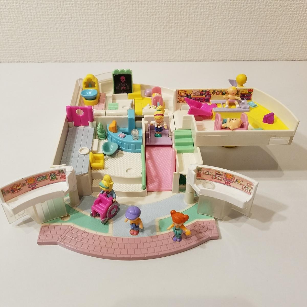 a343f2de786e 1円スタート Polly Pocket ポーリーポケット ポーリータウン あかちゃん病院 1995