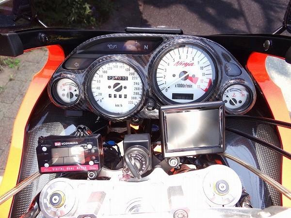GPZ900R NINJA フルカスタム ZRX1100 エンジン換装 ZX900A改 車検32年9月迄 福岡発 ガレージ保管車!_画像9