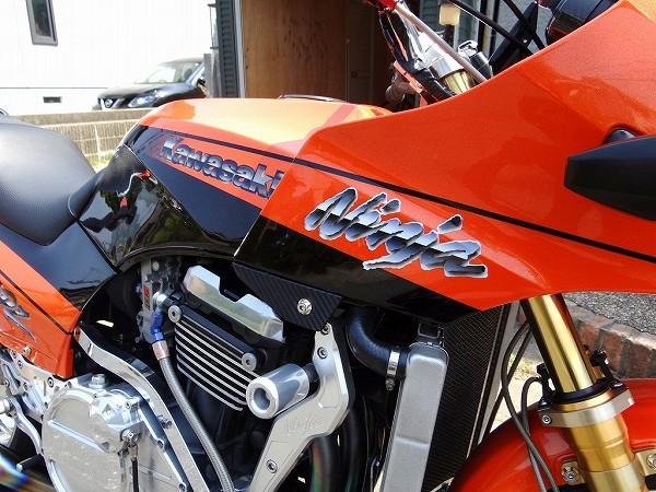 GPZ900R NINJA フルカスタム ZRX1100 エンジン換装 ZX900A改 車検32年9月迄 福岡発 ガレージ保管車!_画像5