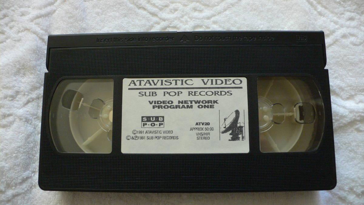 希少【Sub Pop Video Network】 PROGAM1 VHS Import 英語版 中古_画像6