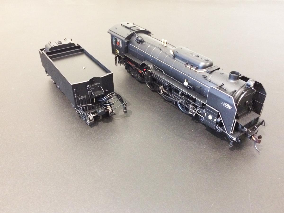 【美品】天賞堂 HOゲージ 71015 C62形 蒸気機関車 2号機 東海道タイプ 鉄道模型