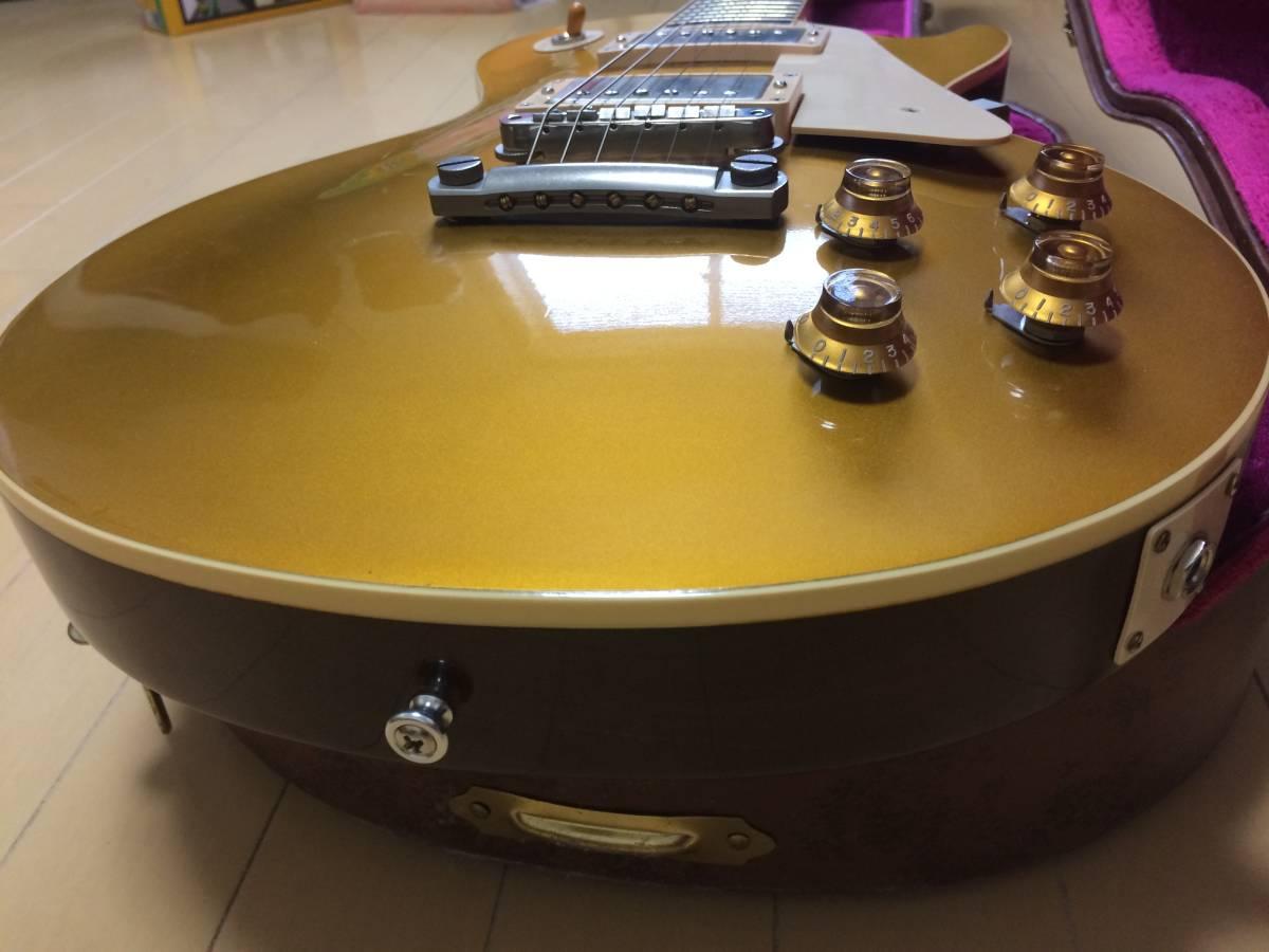 Gibson CS Series CS7 50's Style Les Paul Standard VOS Antique Gold  ギブソン レスポール ゴールドトップ_画像4
