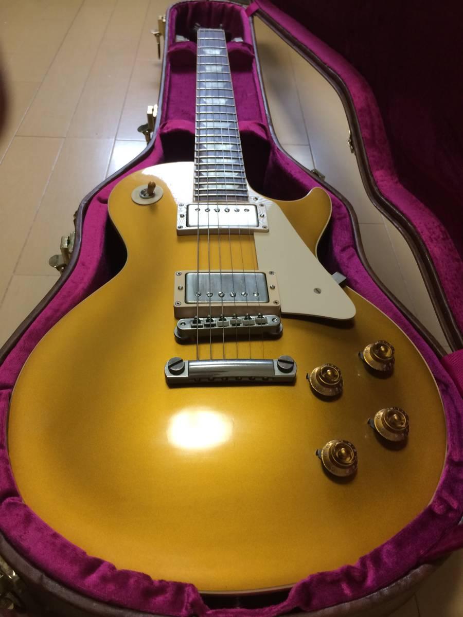 Gibson CS Series CS7 50's Style Les Paul Standard VOS Antique Gold  ギブソン レスポール ゴールドトップ_画像2