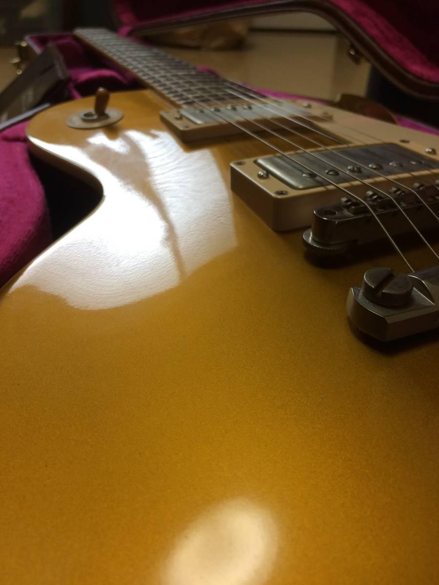 Gibson CS Series CS7 50's Style Les Paul Standard VOS Antique Gold  ギブソン レスポール ゴールドトップ_画像3