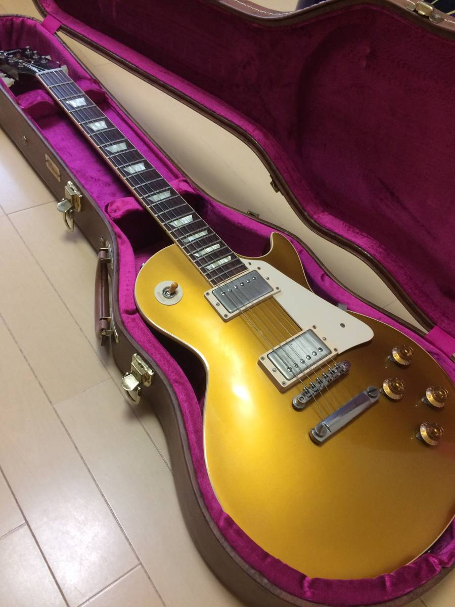 Gibson CS Series CS7 50's Style Les Paul Standard VOS Antique Gold  ギブソン レスポール ゴールドトップ