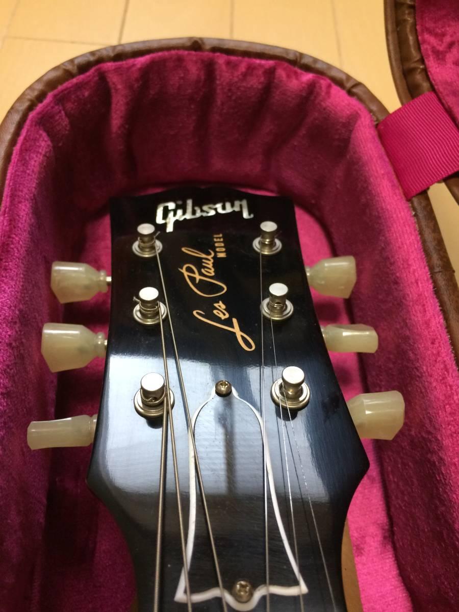 Gibson CS Series CS7 50's Style Les Paul Standard VOS Antique Gold  ギブソン レスポール ゴールドトップ_画像5