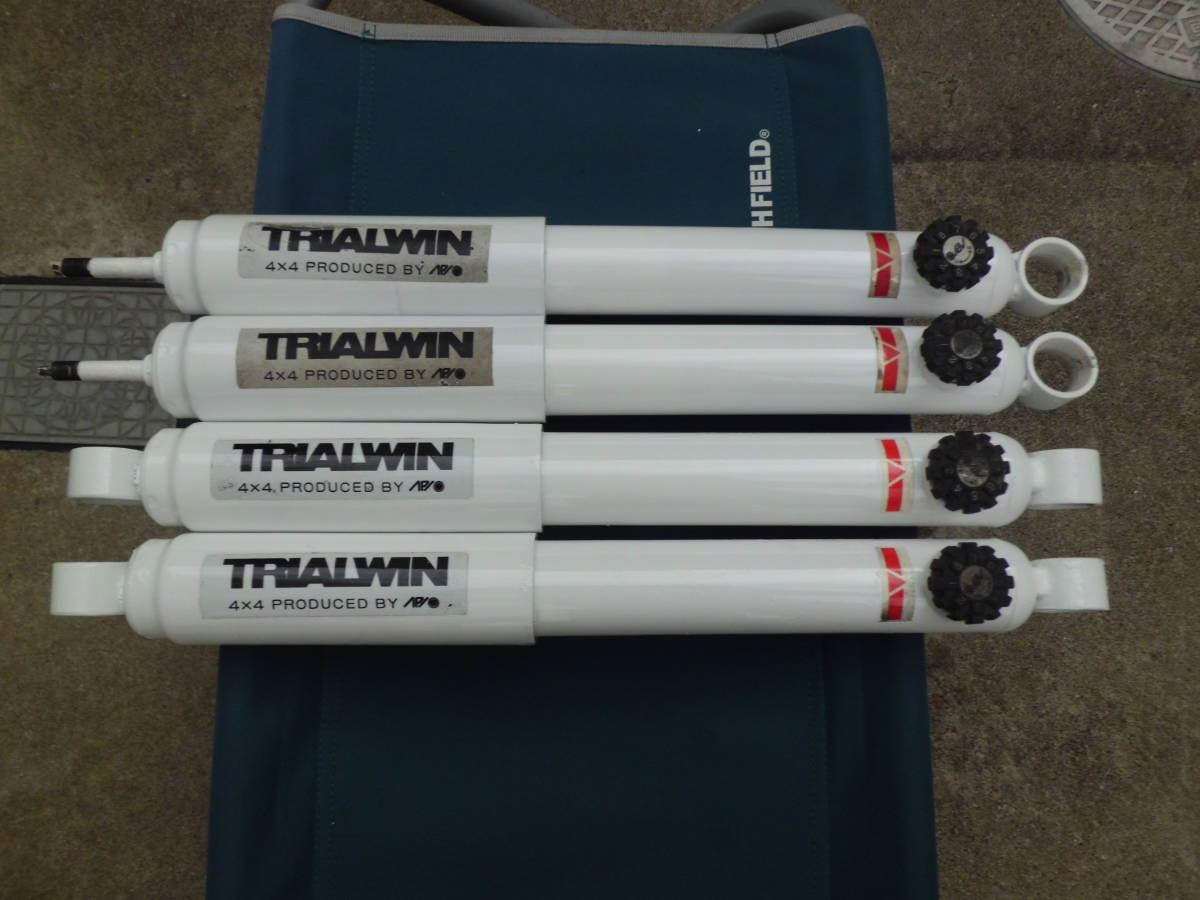 APIO アピオ TRIALWIN 8段調整式 ショックアブソーバー やわら八段黒帯 ジムニー JA11