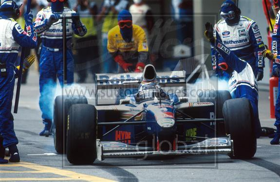 【非売品】`97 ロスマンズ・ウィリアムズ・ルノー 支給品レーシングスーツ sparco スパルコ ビルニューブ フレンツェン FALKE カストロール_画像8