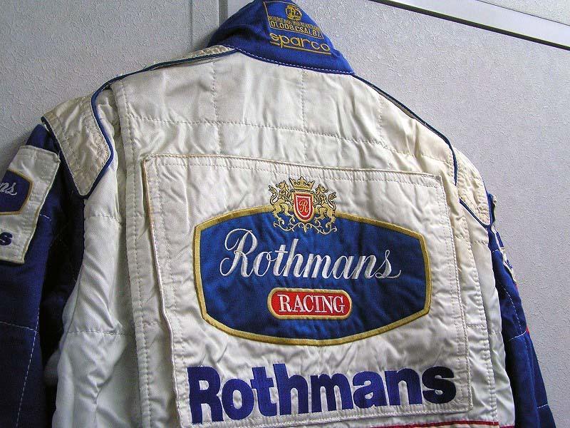 【非売品】`97 ロスマンズ・ウィリアムズ・ルノー 支給品レーシングスーツ sparco スパルコ ビルニューブ フレンツェン FALKE カストロール_画像5