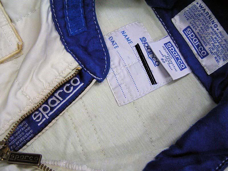 【非売品】`97 ロスマンズ・ウィリアムズ・ルノー 支給品レーシングスーツ sparco スパルコ ビルニューブ フレンツェン FALKE カストロール_画像6