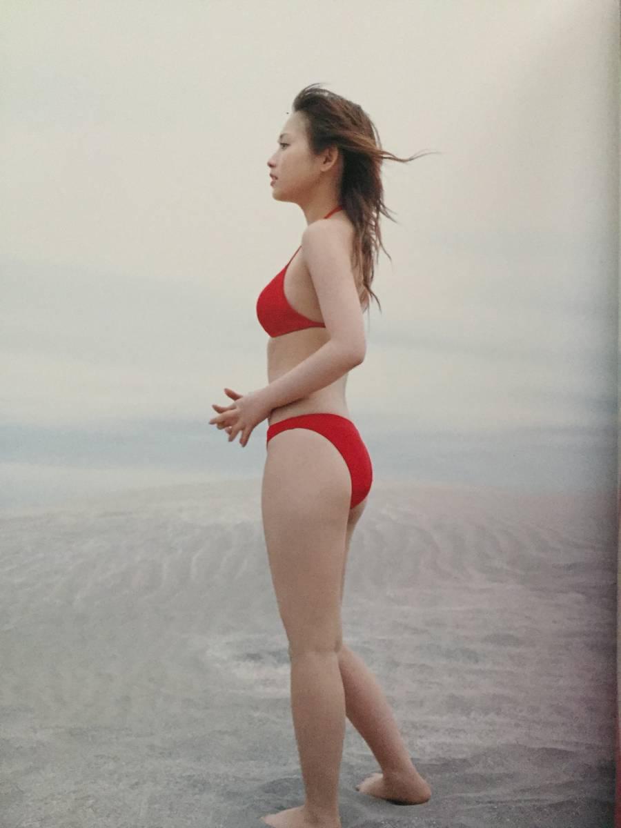 古本 帯なし 写真集 fu (ふう) 安倍なつみ 撮影:熊井貫 モーニング娘。 モー娘 なっち 水着 送料 ¥185~_画像6