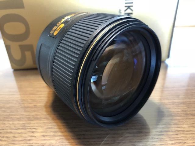 新品同様品 ニコン AF-S NIKKOR 105mm f/1.4E ED FXフォーマット用レンズ AFS105 1.4E _画像3