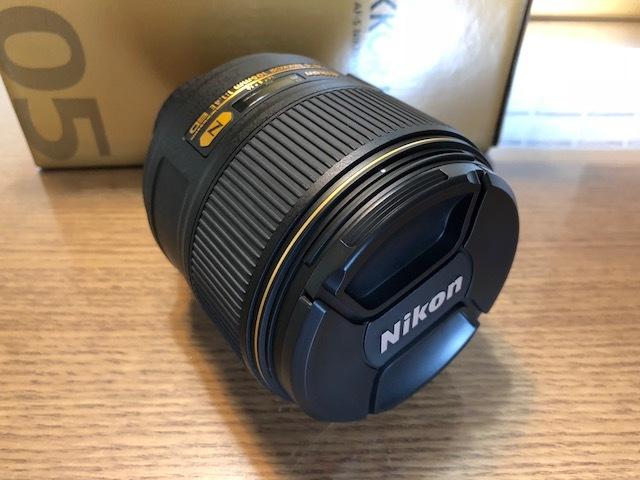 新品同様品 ニコン AF-S NIKKOR 105mm f/1.4E ED FXフォーマット用レンズ AFS105 1.4E _画像6