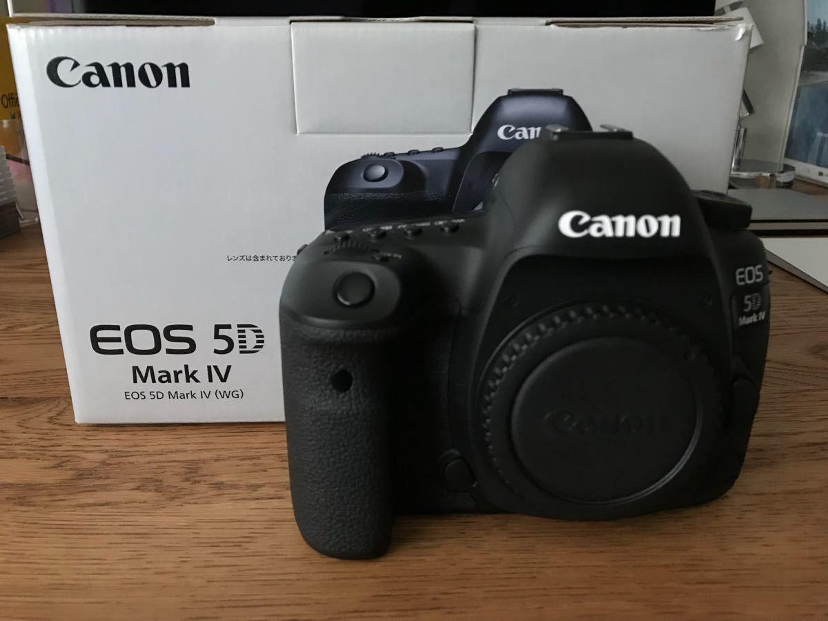 Canon EOS 5D Mark IV ボディ 中古 美品