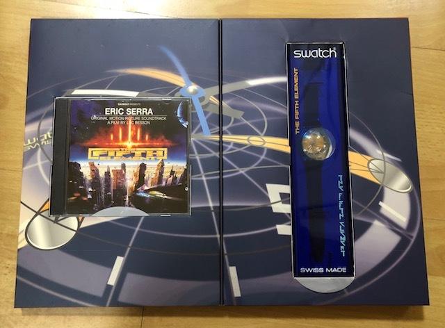 スウォッチ・SWATCH・FIFTH ELEMENT・GK260・CD付きパッケージセット・世界中8,000セット限定販売・未使用新品!!!!!!_画像4