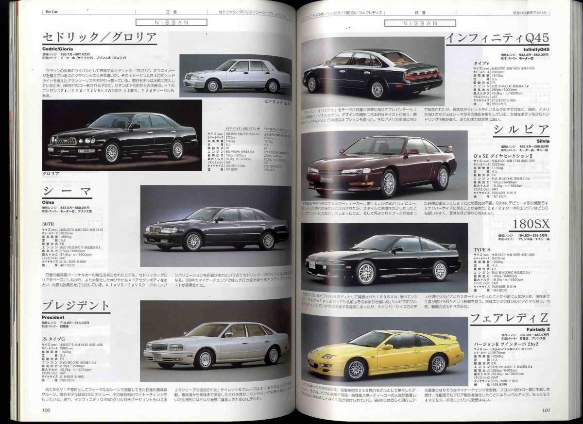 【c3372】THE CAR '99 世界の自動車アルバム - 国産車・外国車_画像3
