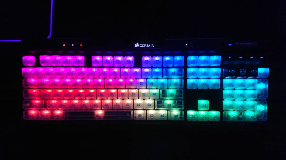newest model 6 end of the month sale goods CORSAIR K70 RGB MK 2