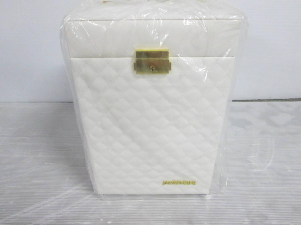 未使用 化粧箱 コスメ ボックス BEAUTY BOX ジャパンライフ メイクボックス JL ③④_画像3