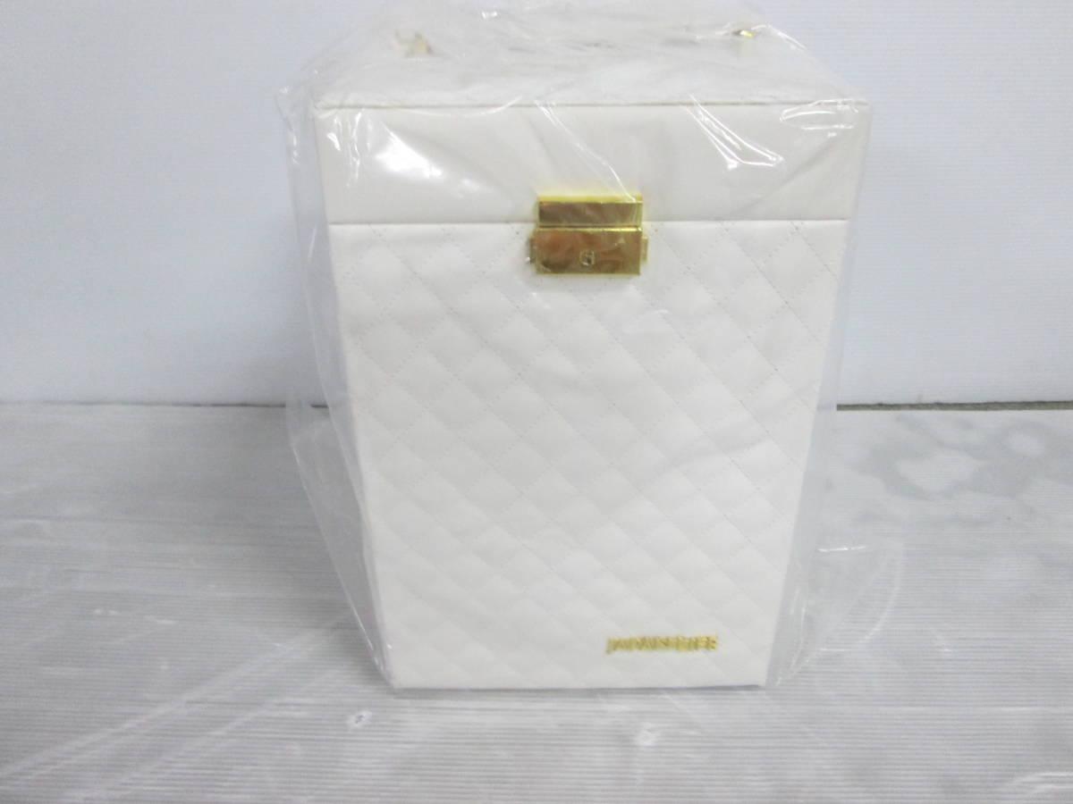 未使用 化粧箱 コスメ ボックス BEAUTY BOX ジャパンライフ メイクボックス JL ③⑤_画像3