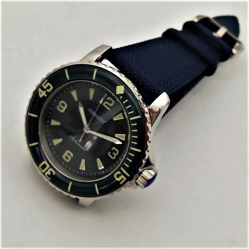 免費送貨/日本非抵達/精心挑選尊敬手錶/高級CORGEUT最新潛水員手錶MIYOTA運動名人系列高品牌風格jf-noob 編號:t596670096