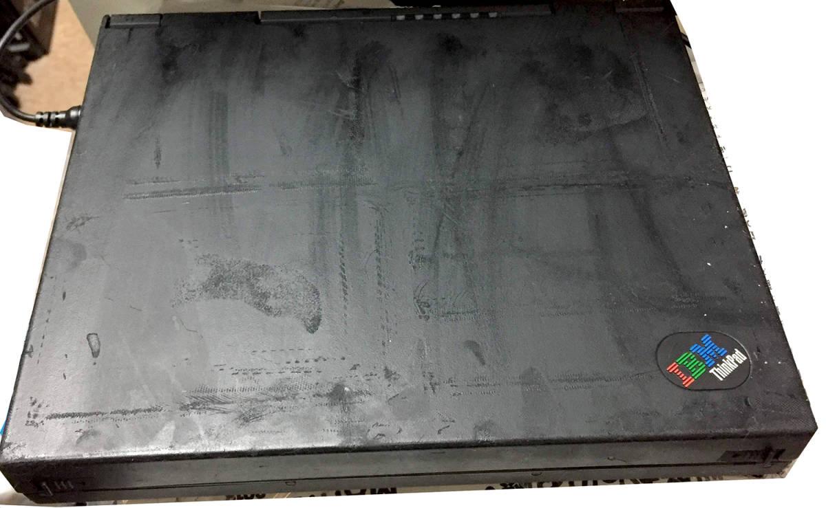 IBM ThinkPad 701C 奇跡のバタフライ・キーボード発掘!! 完動品!_画像6