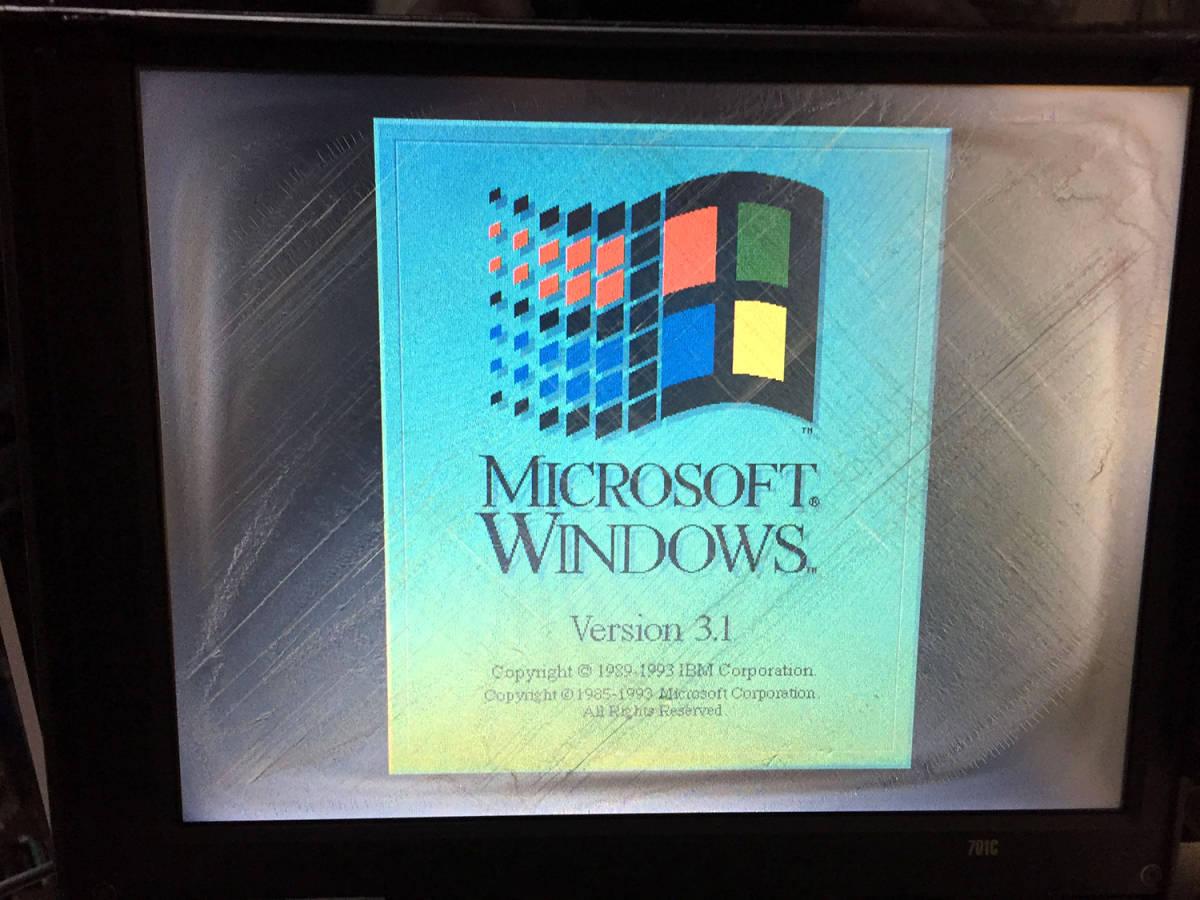 IBM ThinkPad 701C 奇跡のバタフライ・キーボード発掘!! 完動品!_画像2