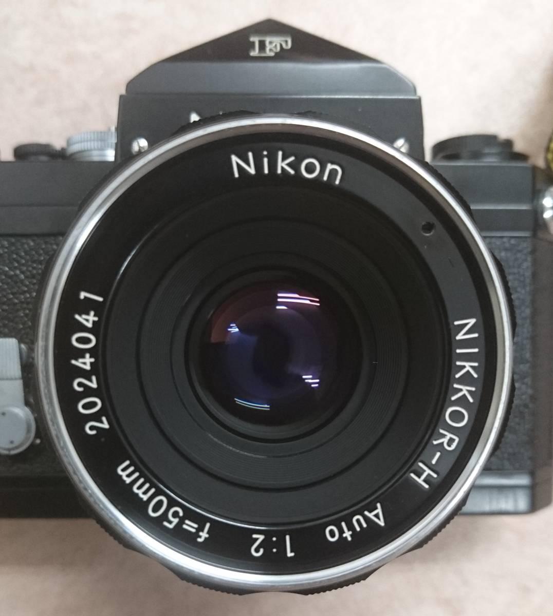 ◇ Nikon F Brack ニコンFブラックボディ NIKKOR-H Auto 1:2 f=50㎜ ◇_画像9