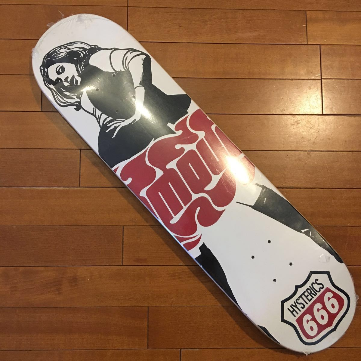 Hysteric glamour Skateboard ① ヒステリックグラマー スケートボード スケボー 新品未使用